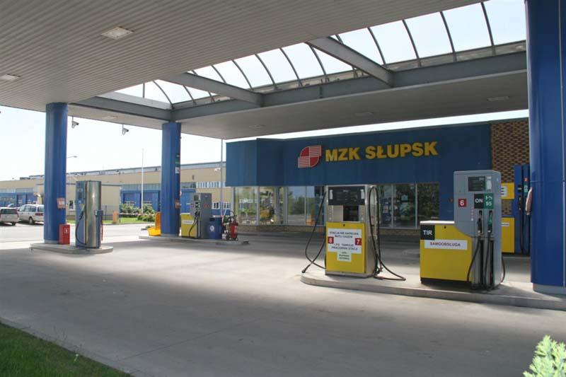 Miejski Zakład Komunikacyjny Kobylnica stacja CNG