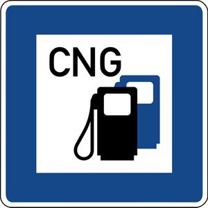 Zakład Gazowniczy w Warszawie stacja CNG