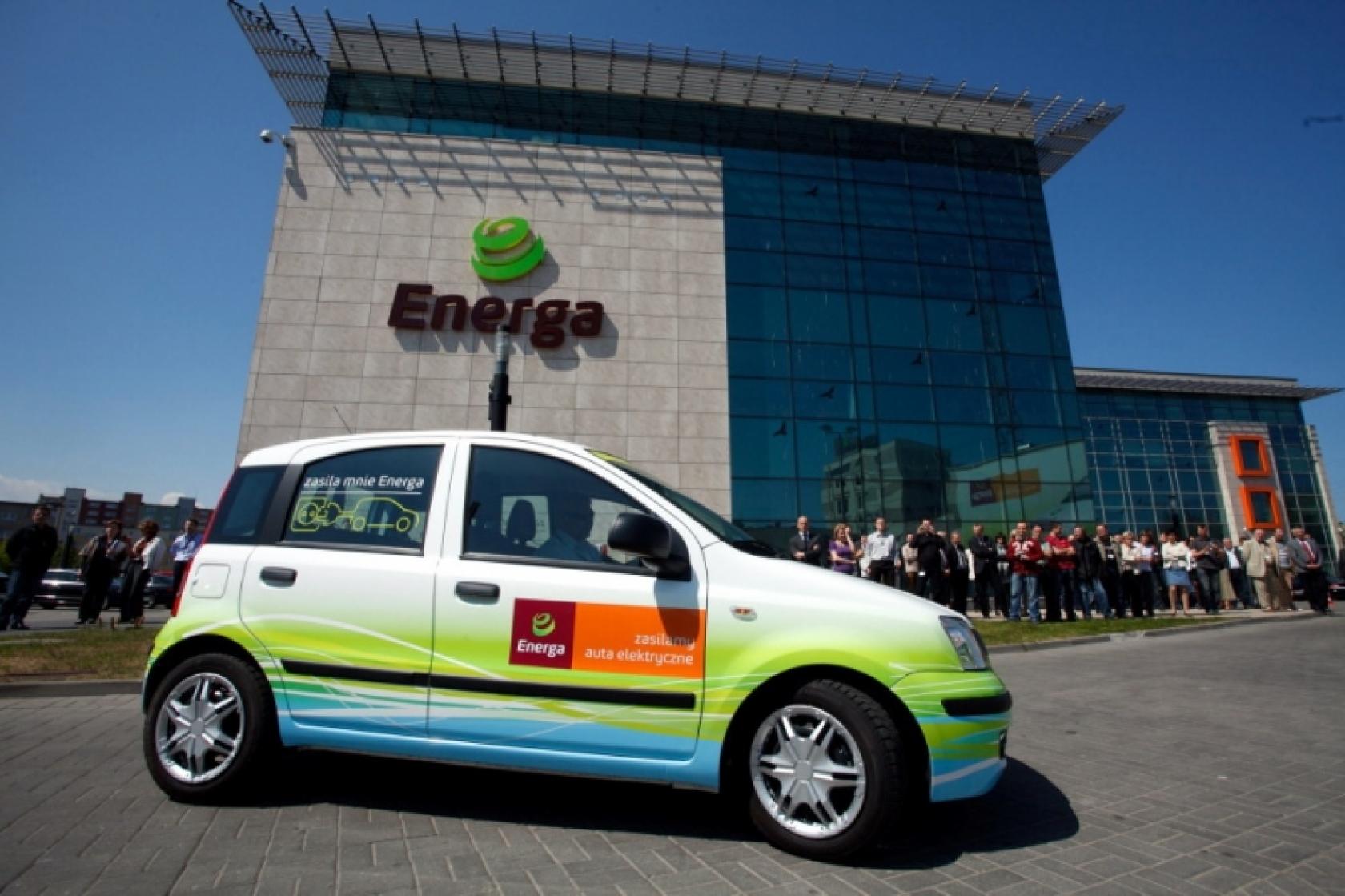 Ogromny Energa - największa i jedyna flota pojazdów elektrycznych w Polsce TD68