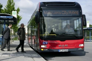 Autobus MAN Lion's City Hybrid