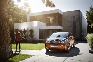 BMW i3 Concept Coupe - front
