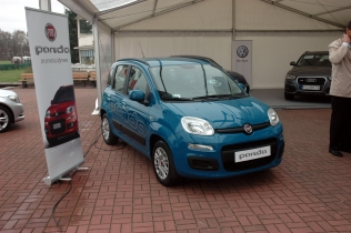 Fiat Panda podczas Fleet Derby 2012