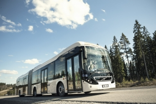 Volvo 7900 Articulated Hybrid