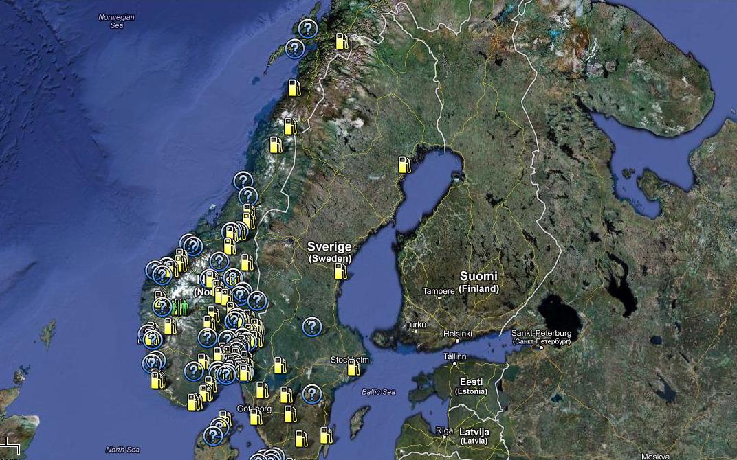 Skandynawia Na Lpg Norwegia Szwecja Gazeo Pl