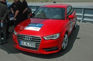 Audi A3 Sportback Pedestrian Protection System