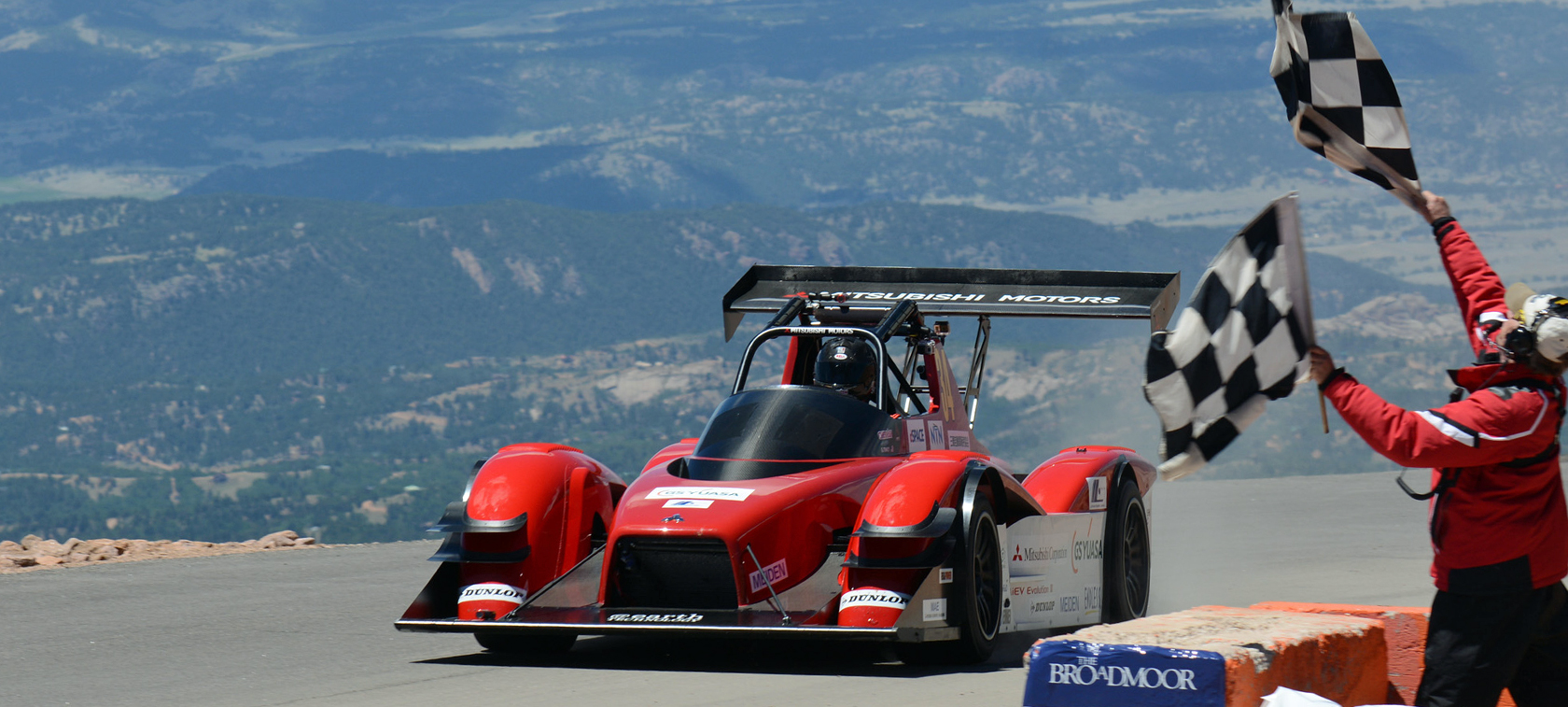 Mitsubishi MiEV Evolution III w Pikes Peak International