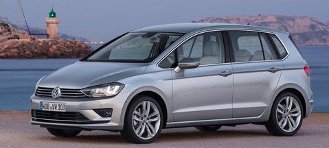 Volkswagen Golf Sportsvan i Omegas Direct