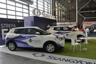Stoisko SsangYong Polska na Poznań  Motor Show 2019