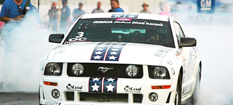 Roush Mustang LPG - 1/4 mili do chwały