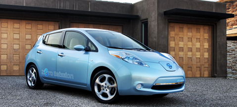 Elektryczny Nissan Leaf - Car of the Year 2011